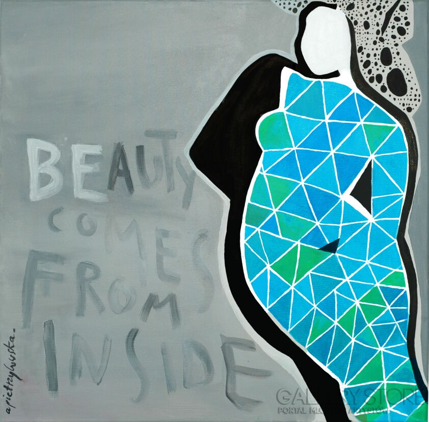 Aga Pietrzykowska-Beauty Comes From Inside-Giclee